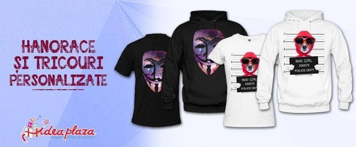 Vremea de afara ne obliga sa schimbam #tricoul (personalizat) cu un #hanorac (personalizat) - http://goo.gl/mJglao