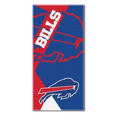 Northwest Co. NFL Bills Puzzle Beach Towel