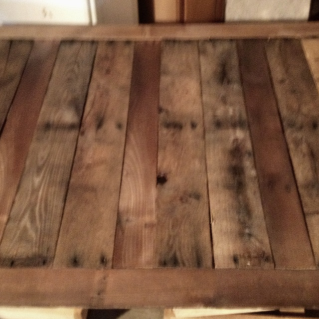 Headboard made out of wooden pallets wooden pallets for How to make a headboard out of pallets