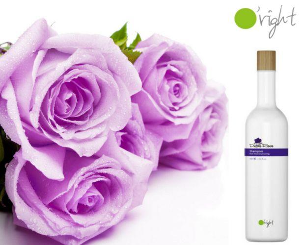 Şamponul O'right Purple Rose protejează culoarea şi amplifică stralucirea părului vopsit. Înlătură delicat sebumul şi reziduurile, fără a îndepărta însă şi pigmenţii de culoare. Comandă-l aici: https://www.pestisoruldeaur.com/SAMPON/sampon-pentru-par-vopsit/Sampon-hidratant-pentru-parul-vopsit-si-deteriorat-O-right-Purple-Rose-400-ml