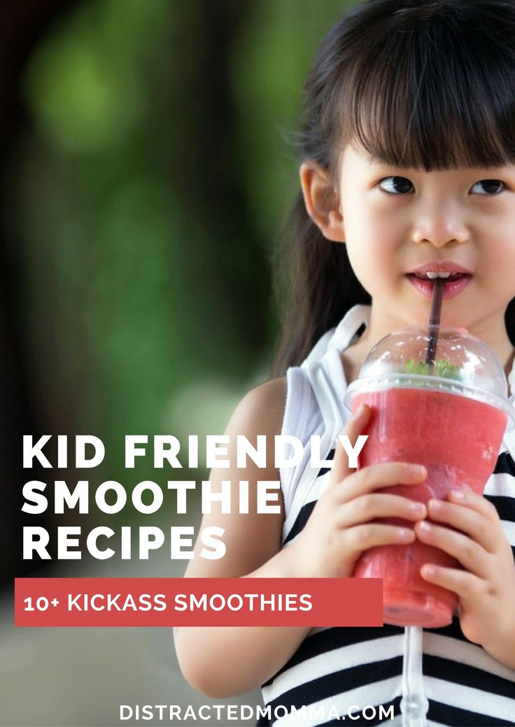 Discover the best healthy smoothie recipes for kids!