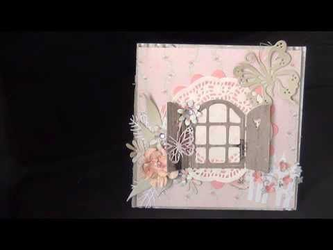vintage Shabby chic card for YT friend