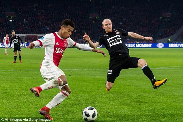 AC Milan have joined English clubs in the hunt for Ajax starlet David Neres.