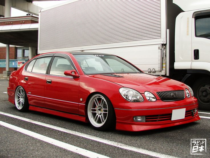 Toyota Aristo at Daikoku Futo PA in Yokohama,... - Rapid Japan | rapidjapan