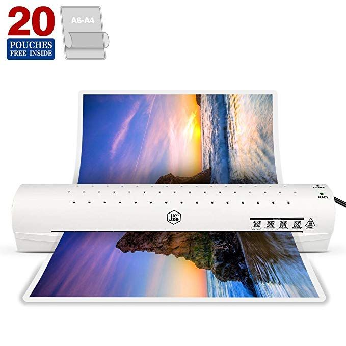 Amazon Com Thermal Laminator Machine For A3 A4 A6 Laminating Machine With Two Roller System New Upgrade Faster Warm Up Q Laminated Machine Thermal Roller