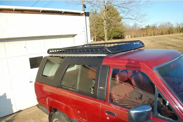 1st Gen 4runner Roof Rack Cargo Racks Yotatech Forums 1st Gen 4runner 4runner Cargo Rack