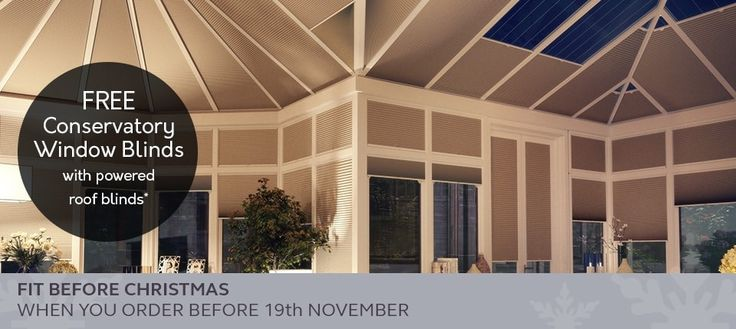 Winter 2017 Conservatory Roof Blinds Min