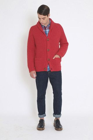 BILLY CARDIGAN + HERBERT JEAN + STANLEY LONG SLEEVE SHIRT (A/W 2014)