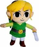 """Name: Link Plush Figure Manufacturer: Nintendo Series: The Legend of Zelda Release Date: January 2008 For ages: 4 and up Details (Description): This high-quality plush toy """"stands about 7 inches tall from hair to boot."""