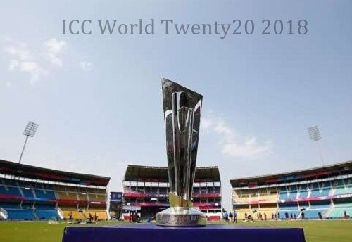 Find ICC World Twenty20 2018 venue, teams, matches, schedule, fixtures, broadcasting rights info, results, players, live score & streaming info.