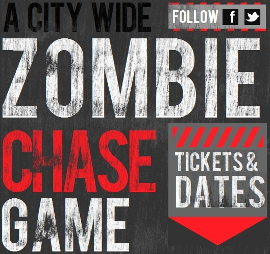28 days later style zombie chase around London... http://2.8hourslater.com/