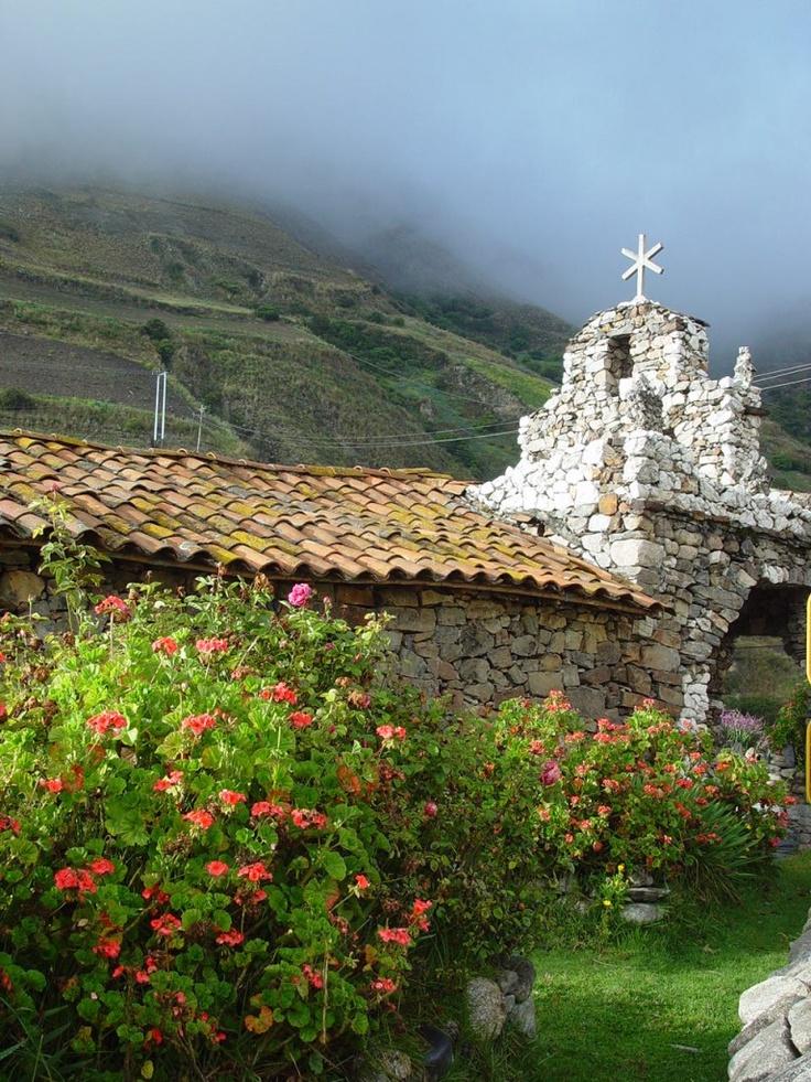 """Iglesia de Piedra"" del maestro Juan Félix Sánchez. Mérida. Venezuela."