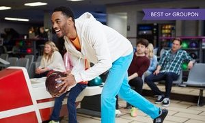 Groupon - Bowling-and-Pizza Package for Up to 6 The Park Tavern (Up to 56% Off)  in St. Louis Park. Groupon deal price: $38