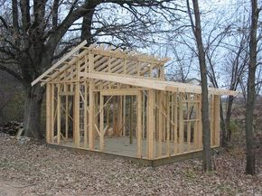 pictures of sheds | Shed roof design garden idea picture Shed roof design garden idea ...