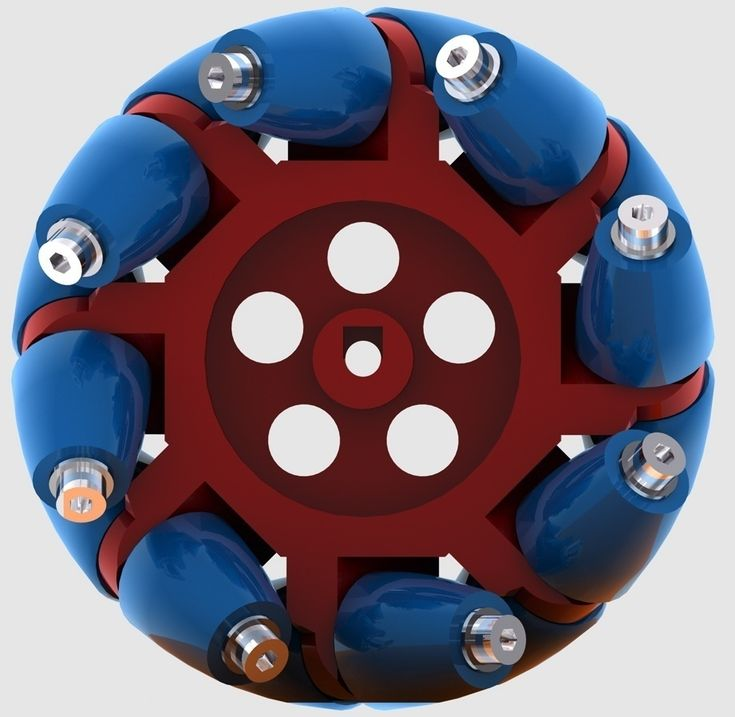 Mecanum Wheel MK2 by Zaggo.