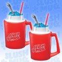 SLUSH MUGS Frozen Beverage Slushie Cups 2 of them!   $19.00