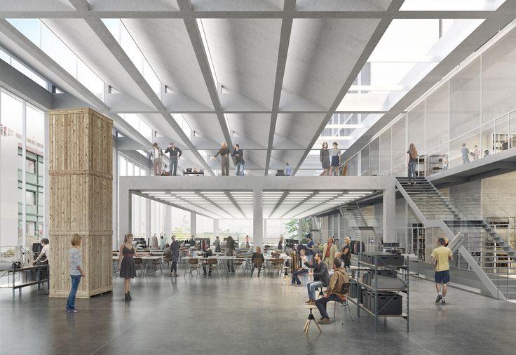 Serie Architects divulga proposta para campus universitário em Londres,Cortesia de Serie Architects