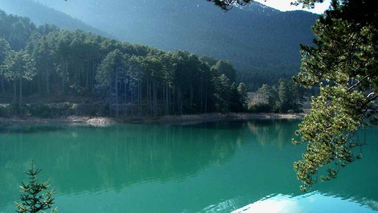 Smaragdenia Lake, Kilkis, historical Macedonia northern Greece