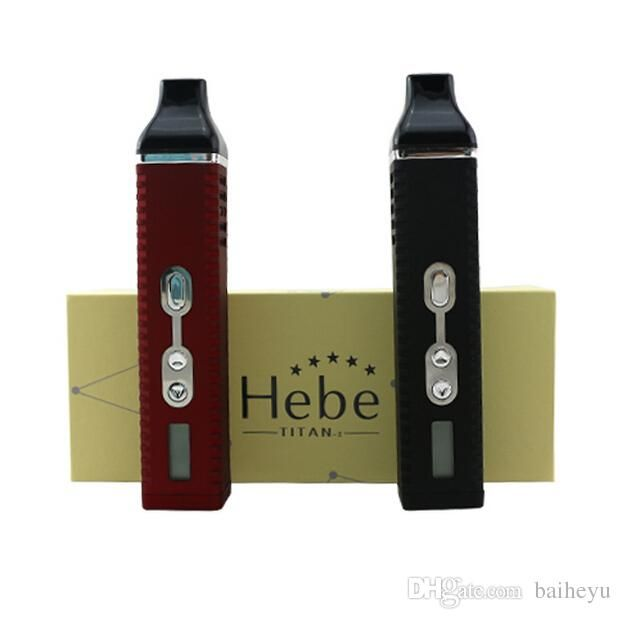 High Quality Dry Herb Vaporizer Pen Hebe Titan 2 Box Mod Kits E Cigarette Twist Herbal Vaporizer Mod 2200mAH to Choose Online with $50.0/Piece on Baiheyu's Store | DHgate.com