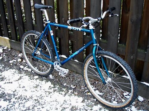 Single speed mountain bike    http://www.fastbikeparts.ch/