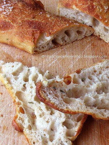 Stecche di pane e rosmarino