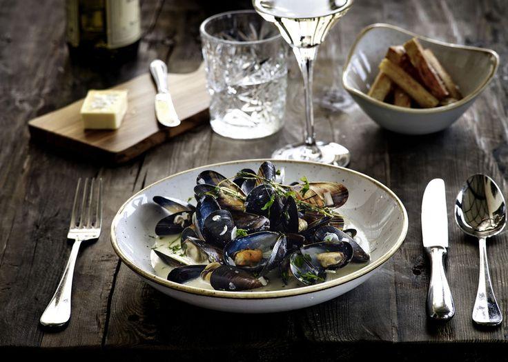 På Comwell Varbergs Kurort kan du nyde en lækker middag