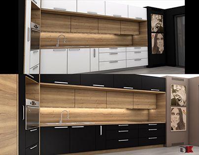 """Check out new work on my @Behance portfolio: """"kitchen k2modul"""" http://be.net/gallery/57522511/kitchen-k2modul"""