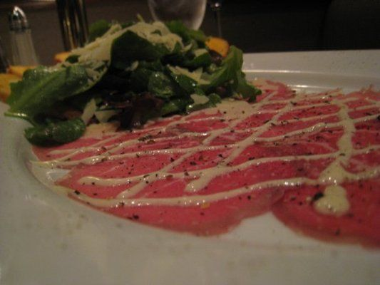 Ruth Chris Steakhouse Copycat Recipes: Beef Carpaccio. No longer served. Happy to find this as it was the best carpaccio I've ever Had!!!