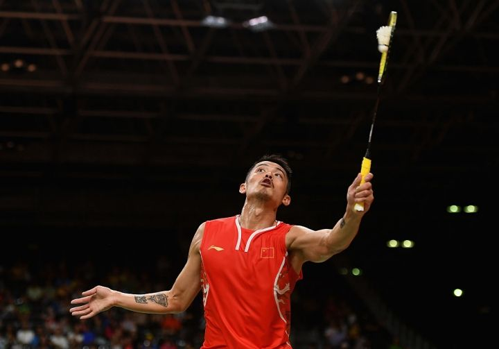Today is the quarterfinals round for Rio Olympics badminton men's singles: Lin Dan