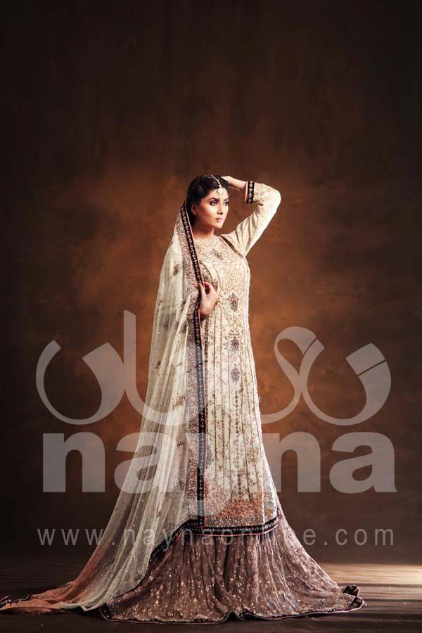 "Pakistni fashion house ""Nayna"" in uk. 2013 collection. Pinned by Zartashia."