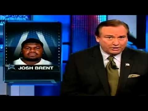 IRVING (CBSDFW.COM) – Dallas Cowboys nose tackle Josh Brent has been arrested and charged with intoxication manslaughter stemming from a late night crash that resulted in the death of a teammate.    Irving Police report that Jerry Brown Jr., a 25-year old currently on the Cowboys' practice roster, was killed in the accident.