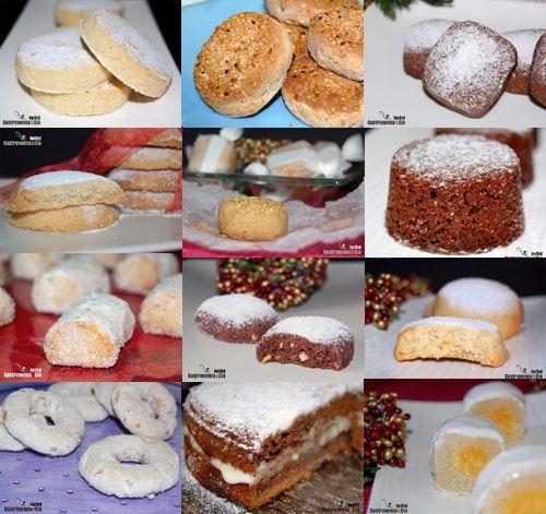 Recetas de Polvorones y Mantecados LINKS to RECIPES http://www.gastronomiaycia.com/2010/12/01/recetas-de-polvorones-y-mantecados/