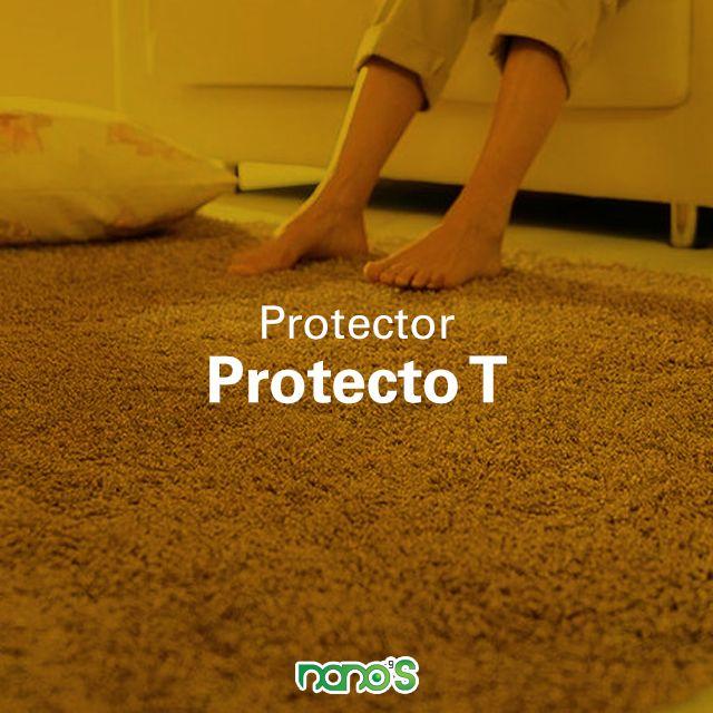 #Nanoproducto  ProtectoT es un producto que protege tus telas y alfombras, contienen nanopartículas que cubren las fibras de la tela, evitando así que las manchas a base de agua se adhieran a la misma, con esto #NanosProtectoT te ayuda con la limpieza de tus prendas. ¡Resiste hasta 5 lavadas!