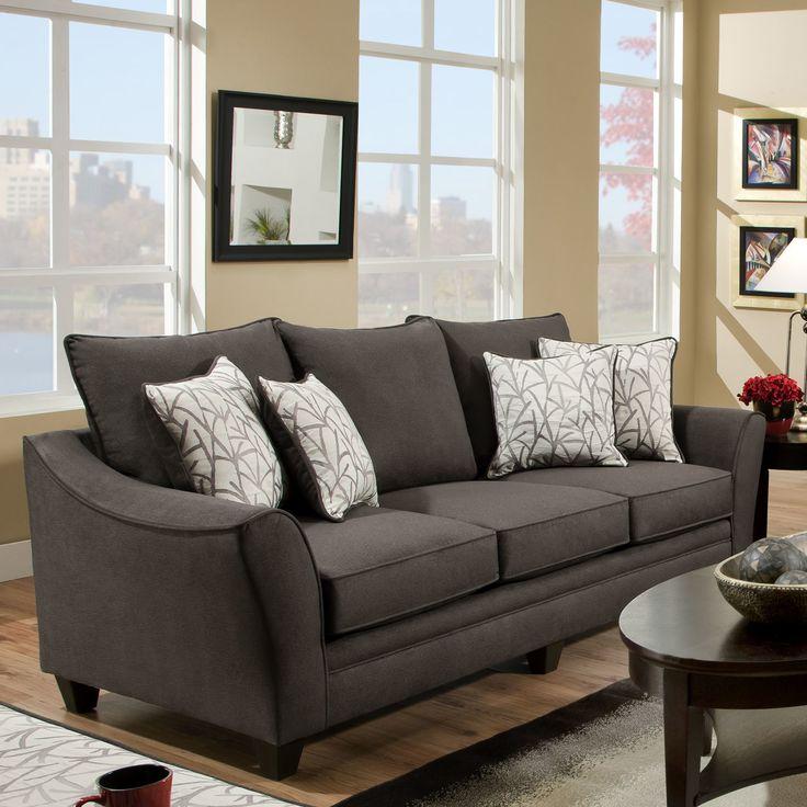 Chelsea Home Flannel Sofa