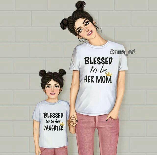 Mi Momo And Mia Diseno Madre E Hija Dibujo Madre E Hija Dibujo