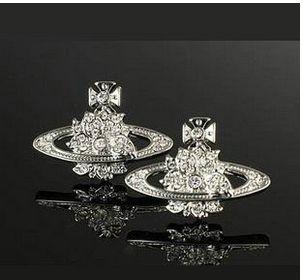 Vivienne Westwood Bas Orb Earrings Silver £25.47, 69% off,welcome to choose vivienne westwood jewellery .