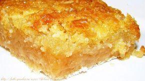 Необычный пирог с яблоками (тесто без яиц)
