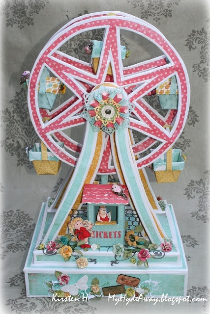 My Craft and Garden Tales: A Ferris wheel - a friendly challenge