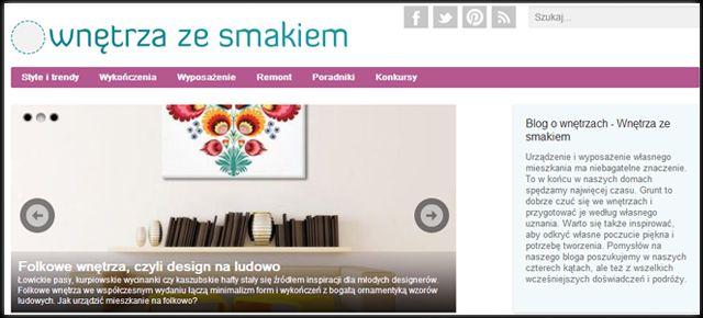TOP 10 najlepsze blogi designerskie w Polsce   Dom-wnetrze