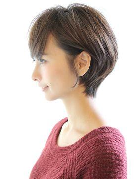 黒髪でも可愛く決まるひし形ショートボブ - 24時間いつでもWEB予約OK!ヘアスタイル10万点以上掲載!お気に入りの髪型、人気のヘアスタイルを探すならKirei Style[キレイスタイル]で。