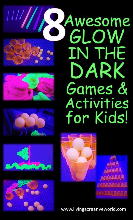8 Awesome Glow in the Dark Activities! | Γενέθλια | Boy