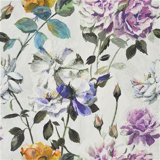 couture rose - viola fabric