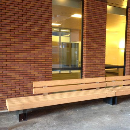 Sl rough ready 6 benches robust wooden bench with for Rough and ready furniture