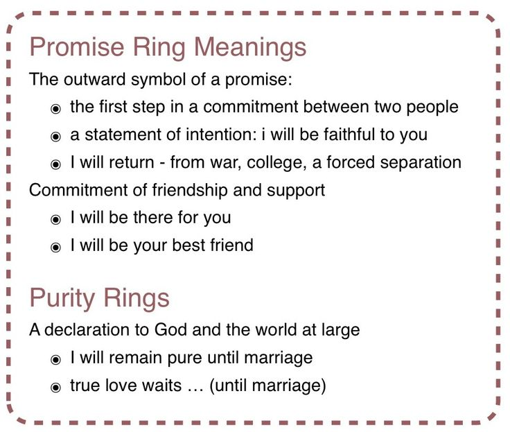17 Best Promise Rings Quotes Images On Pinterest My Love