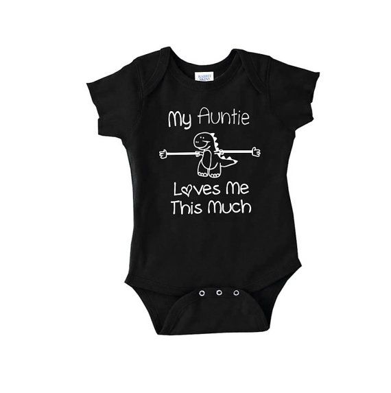 My Auntie Loves Me This Much funny cute baby by youngandstyling