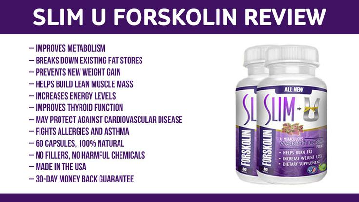 Slim U Forskolin Review: Metabolism Booster and Fat Burner