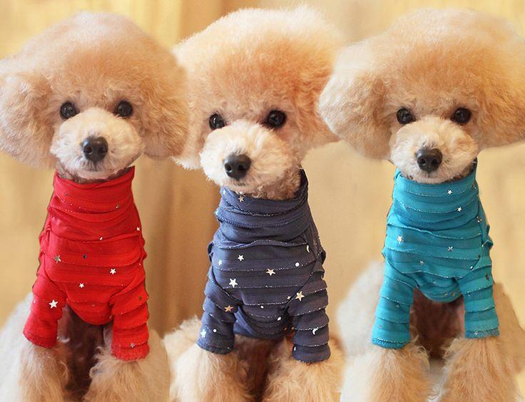 Одежда для животных луна основные vip тедди собаки осень и зима куртка одежда