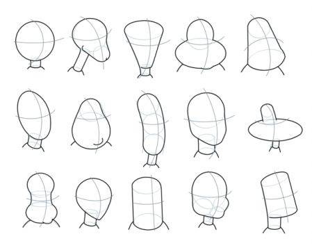 how to draw caricature faces images