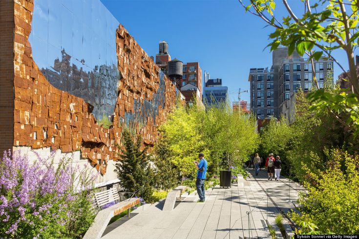 NYC - Chelsea High Line - such a great walk in the city!