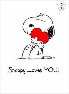 Snoopy valentine